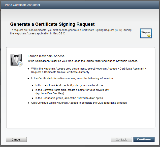 Generating an Apple iOS certificate using Windows – Tomas
