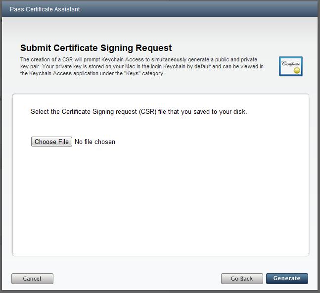Generating an Apple iOS certificate using Windows – Tomas McGuinness
