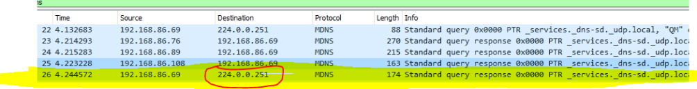 Wireshark - wrong port